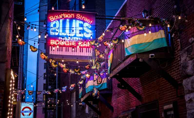 About Bourbon Street Blues and Boogie Bar