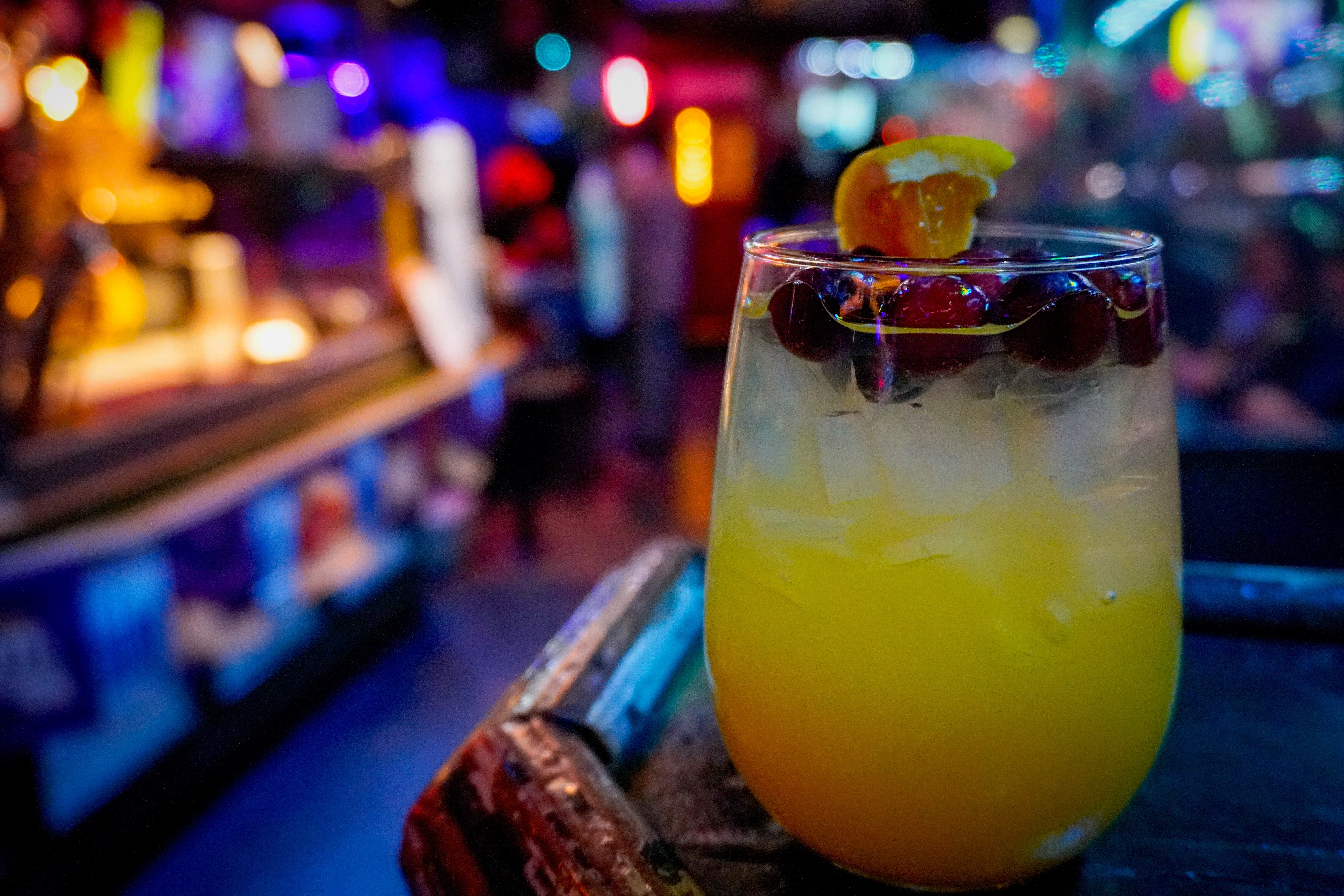 White Sangria @ Bourbon Street Blues and Boogie Bar