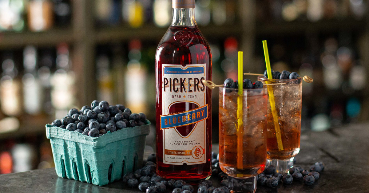 Pickers Blueberry Vodka